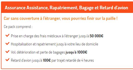 Assurance rapatriement